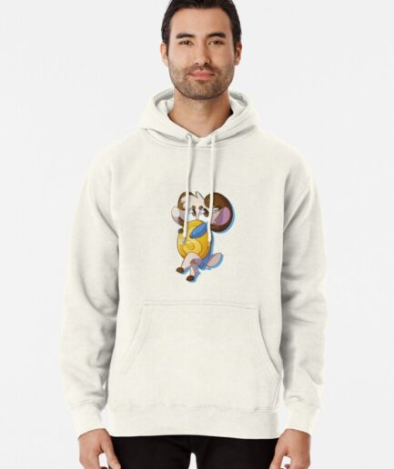 J S Chlattcoin Pullover Hoodie Front