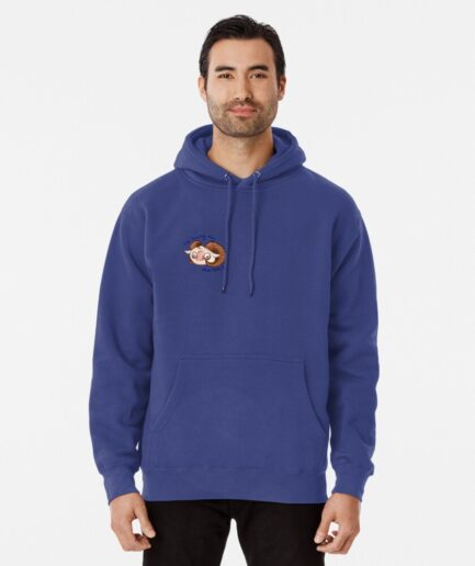 J S Chlatt loses his marbles Pullover Hoodie Front